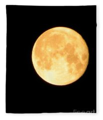 Full Moon Saturday Night Fleece Blanket