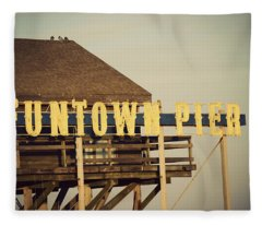 Funtown Vintage Fleece Blanket