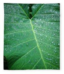 Galaxy Rain Fleece Blanket