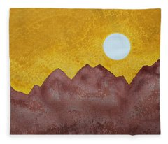 Gallup Original Painting Fleece Blanket
