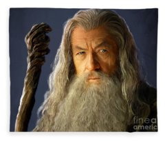 Gandalf Fleece Blanket