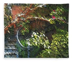 Garden Climb  Fleece Blanket