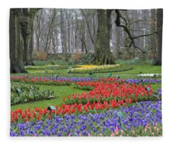 Garden Of Eden Fleece Blanket