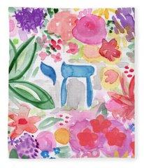 Garden Of Life Fleece Blanket