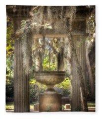Garden Of Remembrance Fleece Blanket