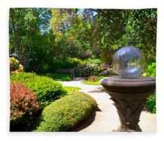 Garden Of Wishes Fleece Blanket