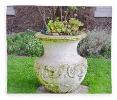 Garden Pot Fleece Blanket
