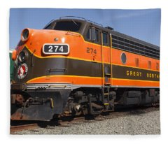 Garibaldi Locomotive Fleece Blanket