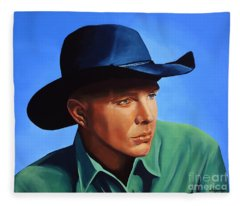 Garth Brooks Fleece Blanket