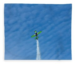 Gary Ward Taking His Mx2 To Great Heights Fleece Blanket