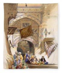 Gateway Of A Bazaar, Grand Cairo, Pub Fleece Blanket
