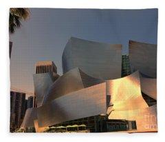 Gehry Tones Fleece Blanket