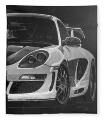 Gemballa Porsche Left Fleece Blanket