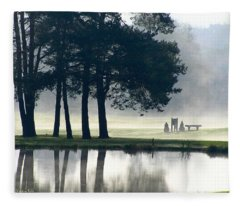 Genegantslet Golf Club Fleece Blanket