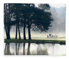 Genegantslet Golf Club Fleece Blanket