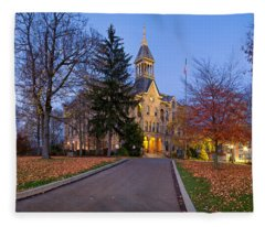 Geneva College Fleece Blanket