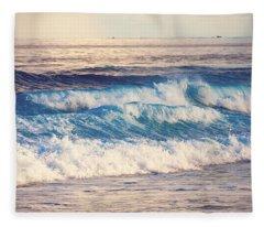 Gentle Light  Fleece Blanket