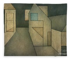 Geometric Abstraction II Fleece Blanket