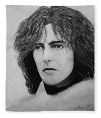 George Harrison Fleece Blanket