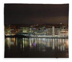 Georgetown Waterfront Fleece Blanket