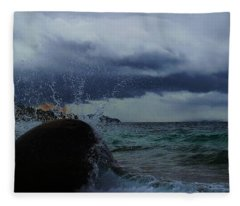 Get Splashed Fleece Blanket