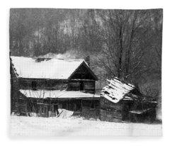 Ghosts Of Winters Past Fleece Blanket