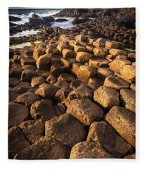 Giant's Causeway Bricks Fleece Blanket