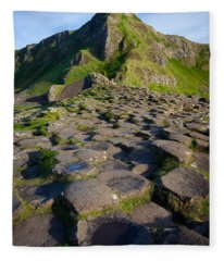 Giant's Causeway Green Peak Fleece Blanket