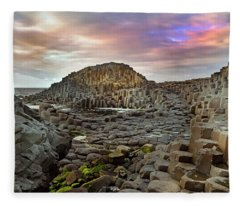 Giant's Causeway Spiritual Fleece Blanket