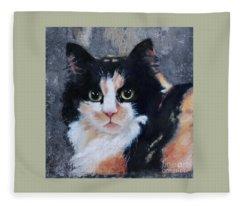 Ginger Fleece Blanket