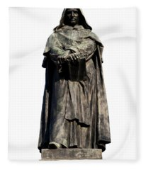 Giordano Bruno Fleece Blanket