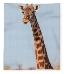 Giraffe Tongue Fleece Blanket