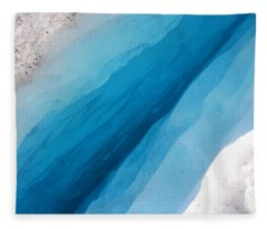Glacial Rift Fleece Blanket
