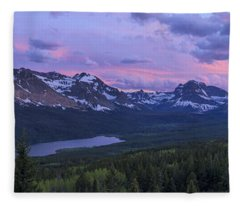 Glacier Glow Fleece Blanket
