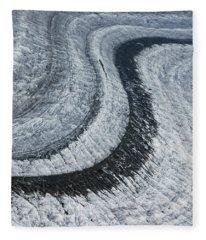 Glacier Moraine - Lots Of Ice Fleece Blanket