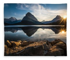 Mountain Fleece Blankets