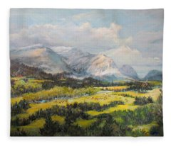 Glacier Splendor Fleece Blanket