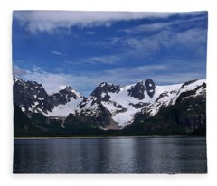 Glacier View Fleece Blanket