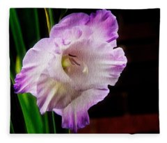 Gladiolus - Summer Beauty Fleece Blanket