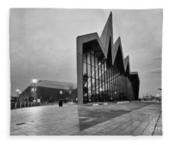 Glasgow Riverside Transport Museum Fleece Blanket