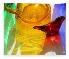 Glass Reflections #8 Fleece Blanket