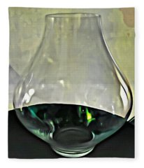 Glass Vase Fleece Blanket
