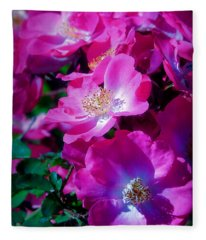 Glorious Blooms Fleece Blanket