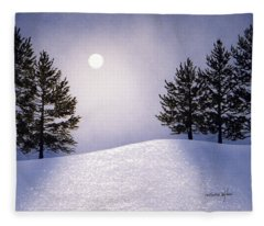Glorious Night Fleece Blanket