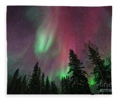 Glowing Skies Textured Fleece Blanket