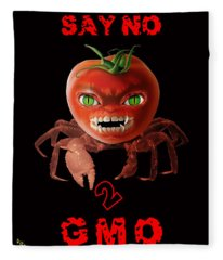 GMO Fleece Blanket