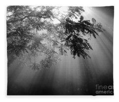 God Rays Fleece Blanket