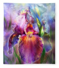 Goddess Of Healing Fleece Blanket