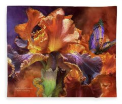 Goddess Of Miracles Fleece Blanket
