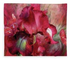 Goddess Of Passion Fleece Blanket